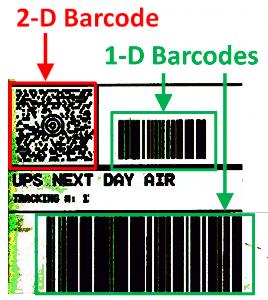 Scegliere il codice a barre giusto