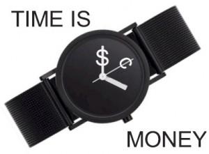 وقت پیسہ ہے