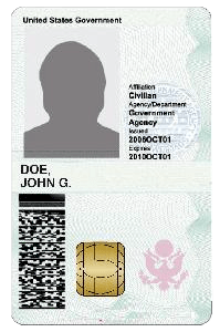 High Frequency Gov't PICC Card 13.56MHz