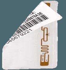 Freq ultraleggero. Etichette stampate 915MHz