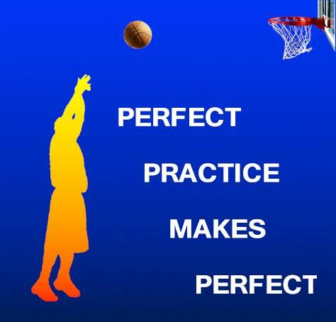 Pertfect oefening maak perfek