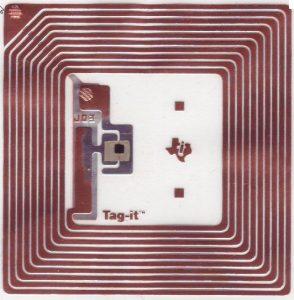 standaard RFID-etikette