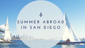 Été à l'étranger à San Diego