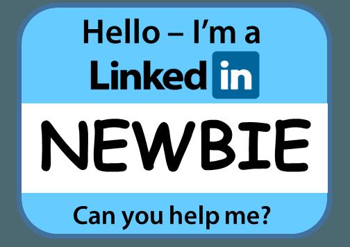 LinkedIn newbie