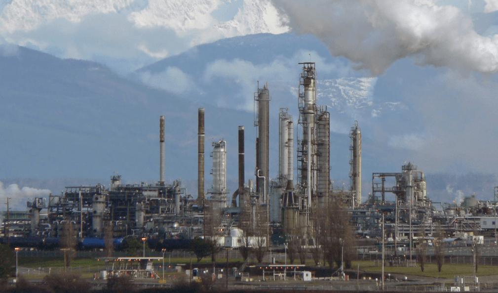 製油所の緊急事態