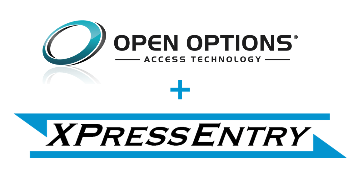 logos of open options and telaeris