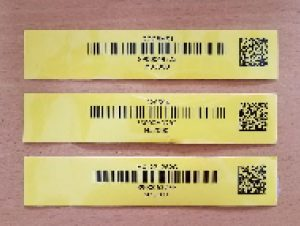 Tags used for warehouse support services after new system implementation