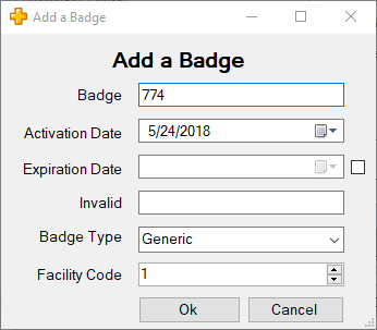 XPressEntry Add User Badge
