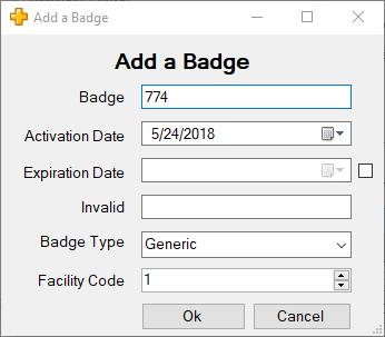 XPressEntry添加用户徽章
