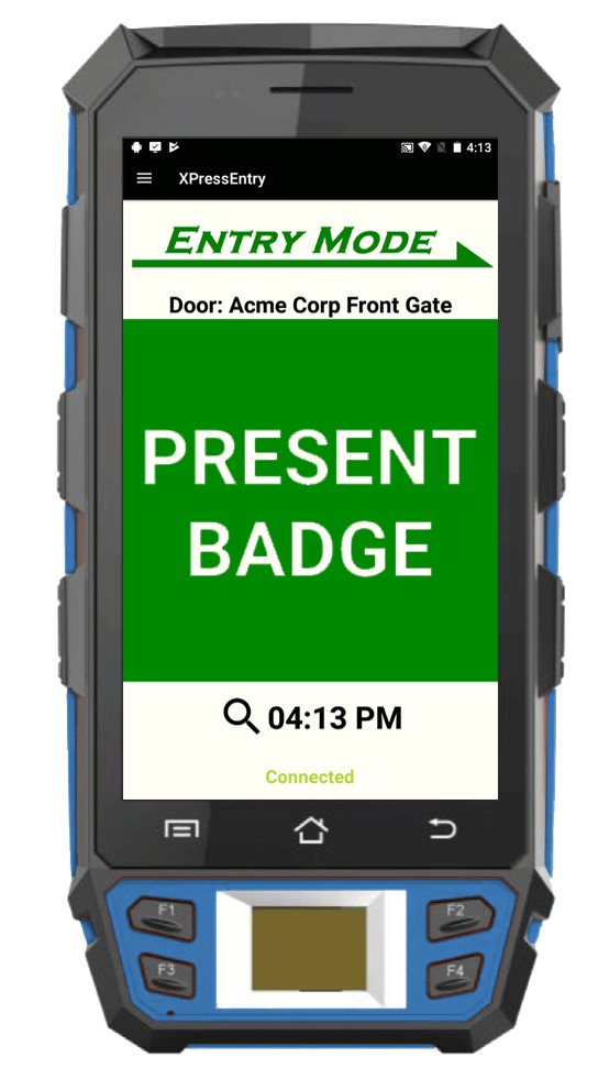 XPID biometrische handheld-lezer