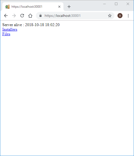 xpressentry secured local host screen