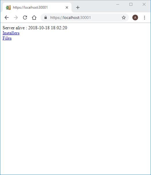 xpressentry təmin yerli host ekran