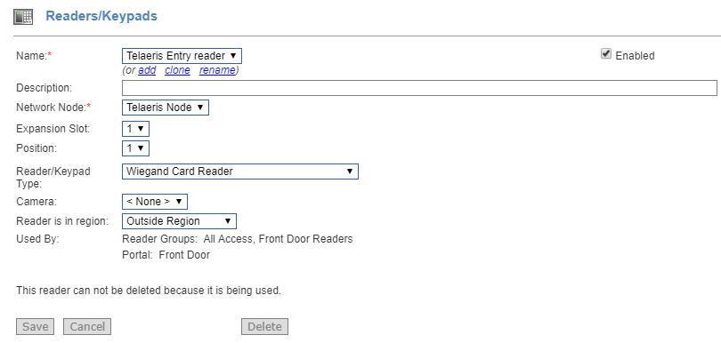 skep logiese xpressentry handhelds in netbox s2-lesers se sleutelbord