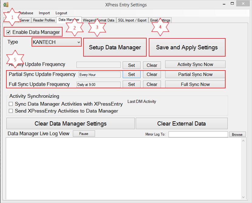با استفاده از کانتینر مدیریت داده ها
