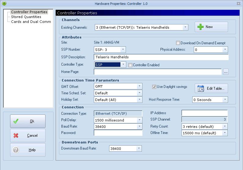 Xpressentry فتح خيارات أجهزة تحكم