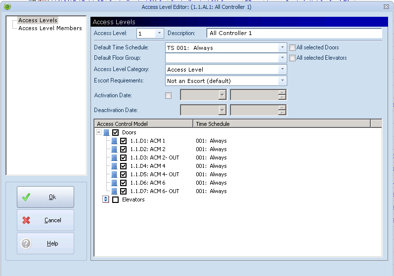 xpressentry open options reader dna fusion