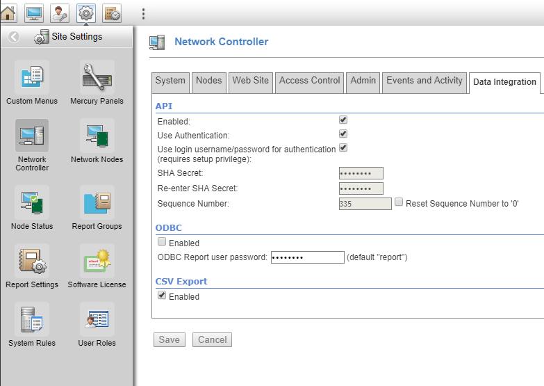 xpressentry s2 کنترل کننده شبکه را تنظیم می کند