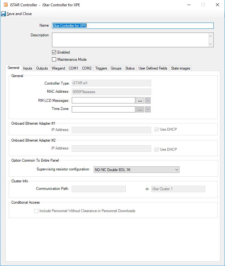 istar controller voor xpe