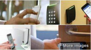 Imagen mostrada al buscar control de acceso móvil