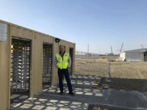 Seguimiento de empleados de construcción
