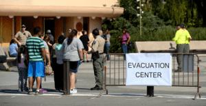 Operaciones de refugio de emergencia