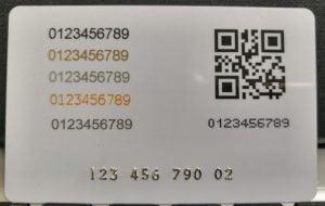 کارڈ پرنٹنگ ٹیکنالوجیز کی مثالیں