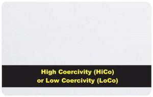 HiCo and LoCo Magstripe Card