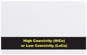 HiCo och LoCo Magstripe-kort