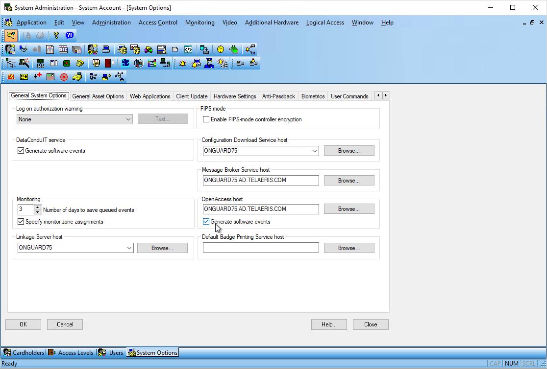 enable openaccess
