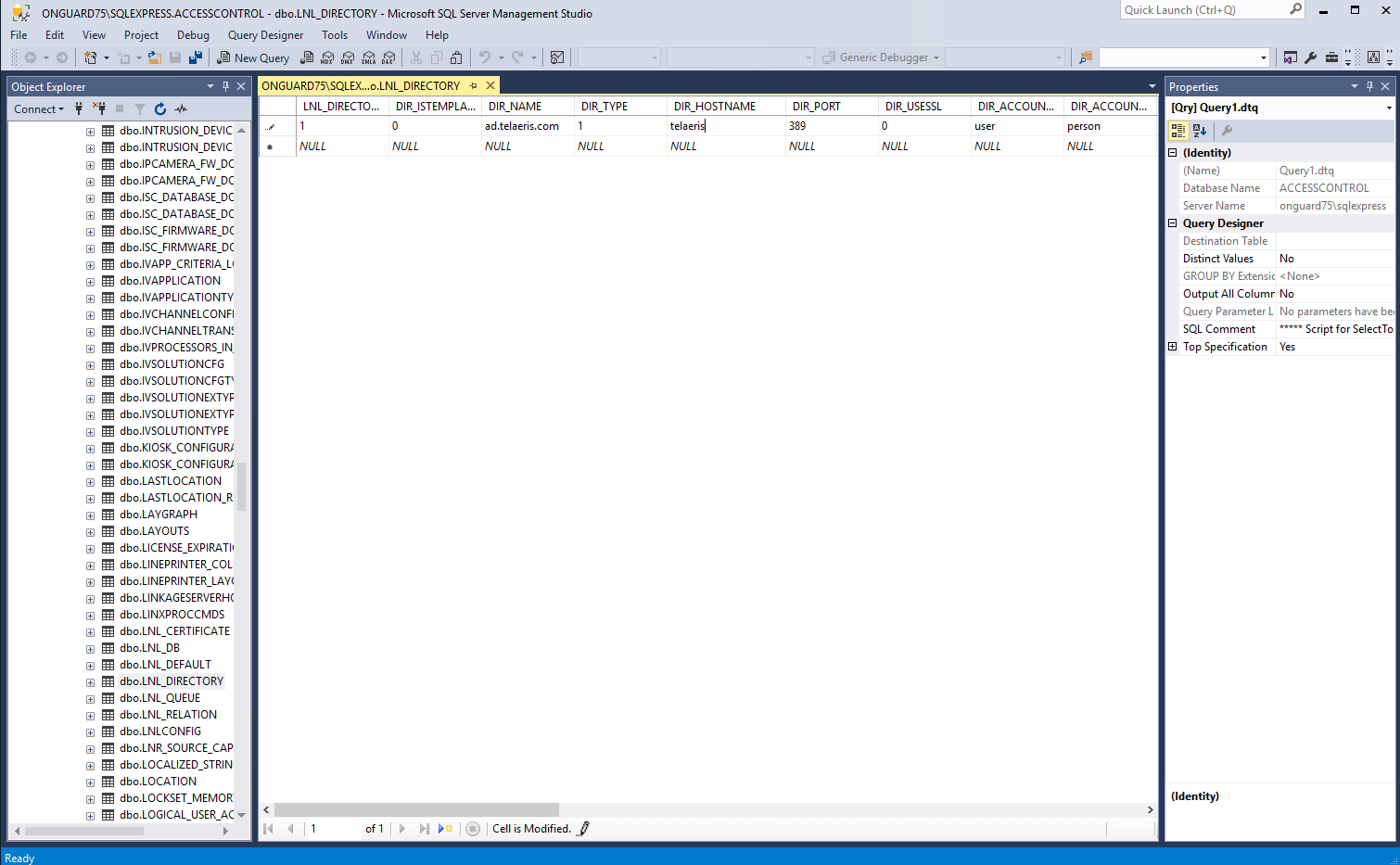 lenel onguard directory