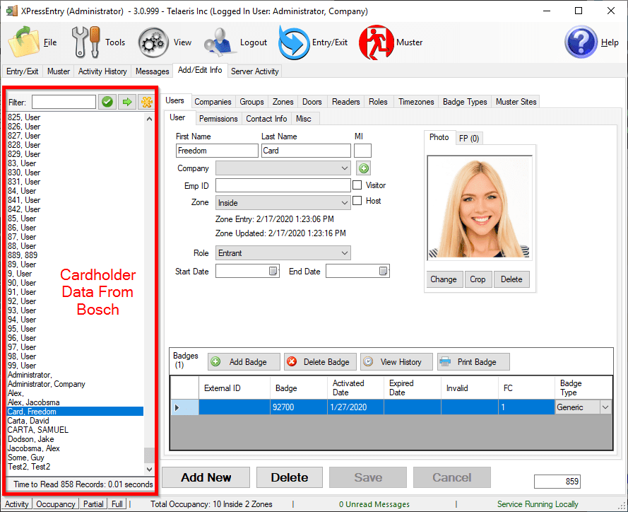 xpressentry how does it work