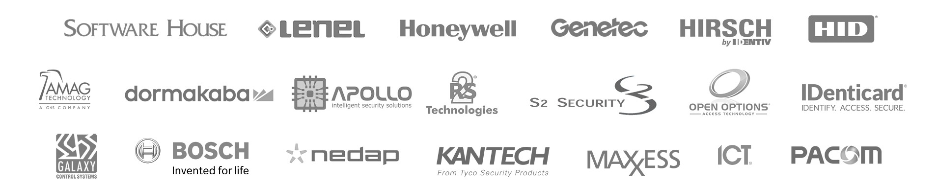 logos of telaeris partners