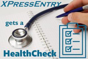 XPressEntry는 HealthCheck를 얻습니다.